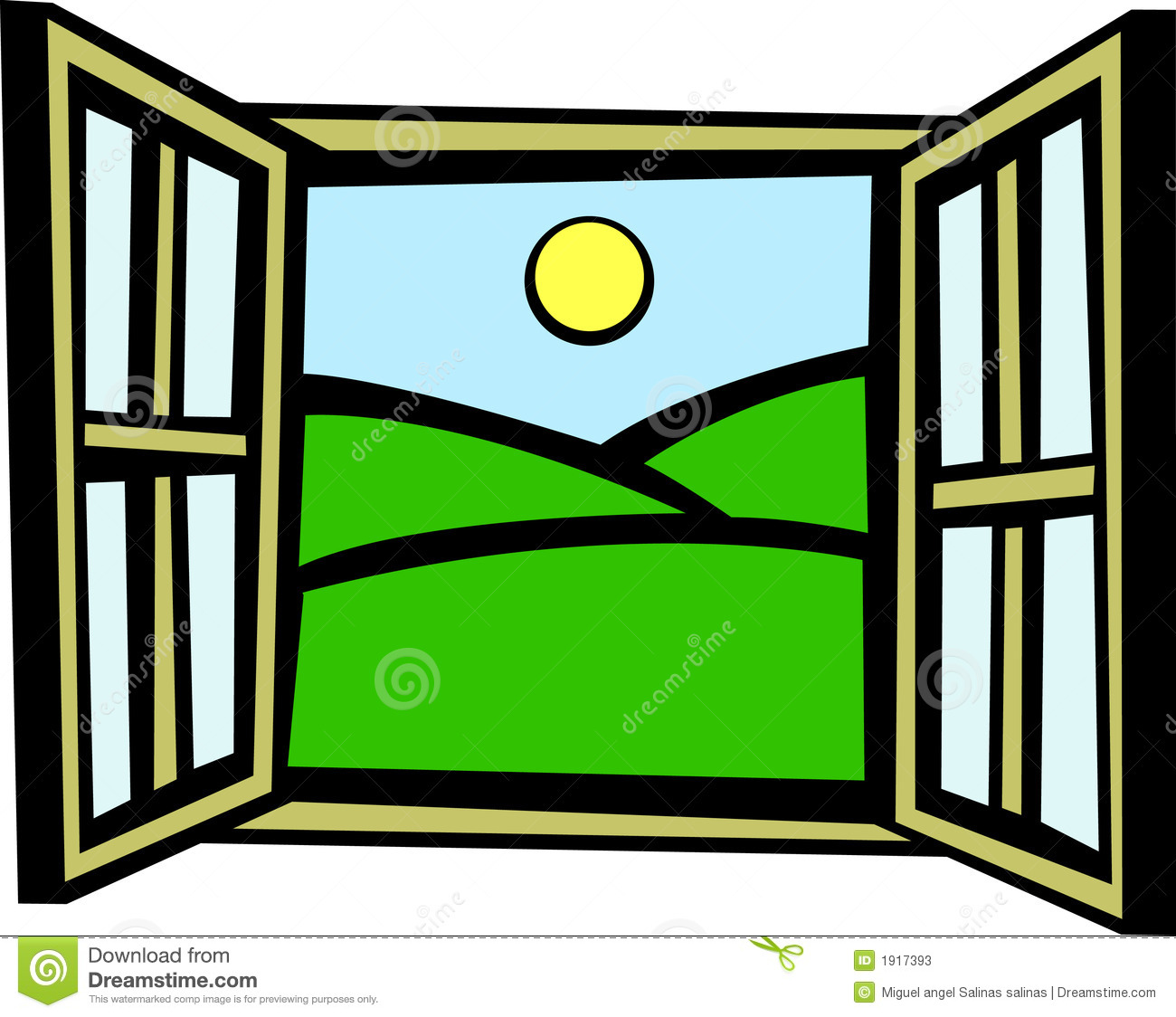 Morning At The Window Clipart - Clipart Kid