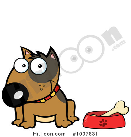 Pet Food Bowl Clipart  1   Royalty Free Stock Illustrations   Vector