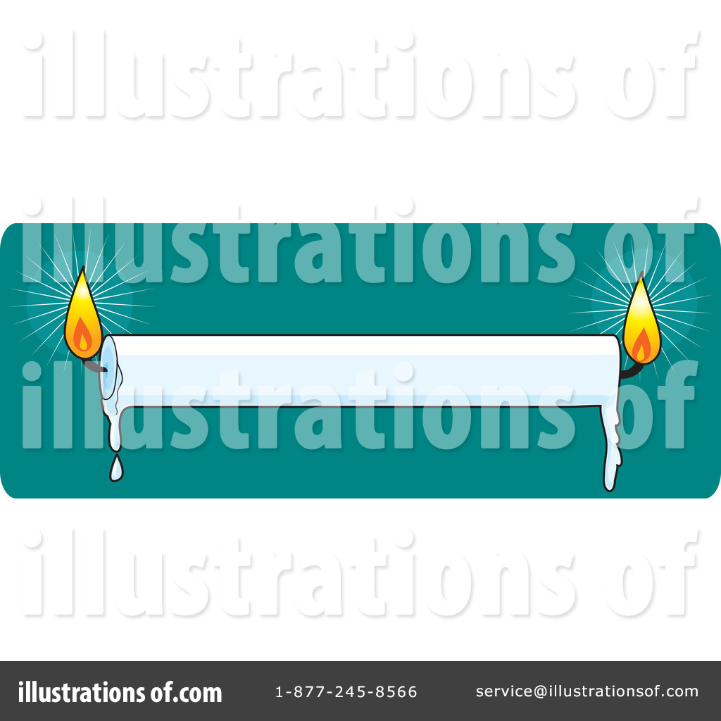 Royalty Free  Rf  Candles Clipart Illustration By Maria Bell   Stock