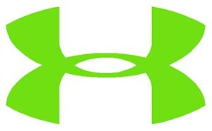 Under Armour Logo Vinyl Sticker Decal Limegreen 4 Inch   Amazon Com