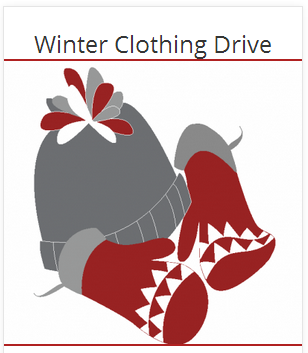 Winter Clothing Drive Winter Clothing Drive Button