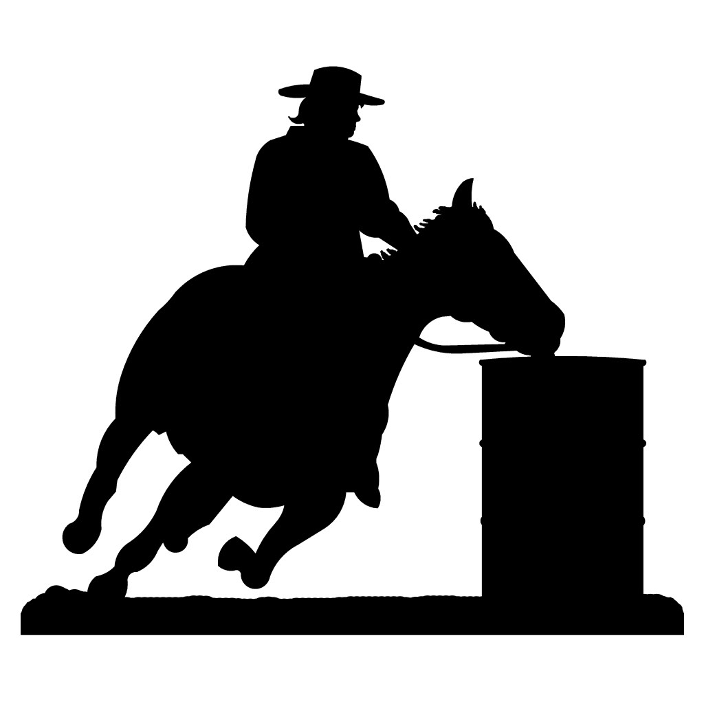Clip Art Barrel Racing Clip Art barrel racing clip art group picture image by tag keywordpictures amazing western steel metal wall clipart