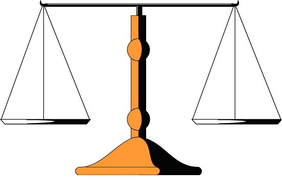 Balance Scale Clipart Clipart Drawing Of The Scale