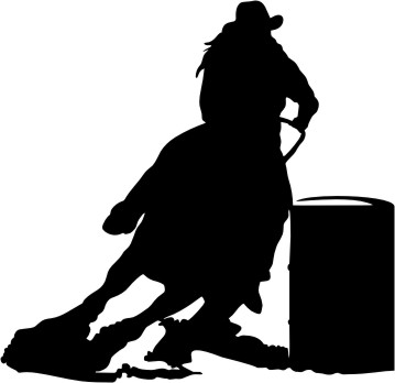 Clip Art Barrel Racing Clip Art barrel racing clipart kid cliparts co