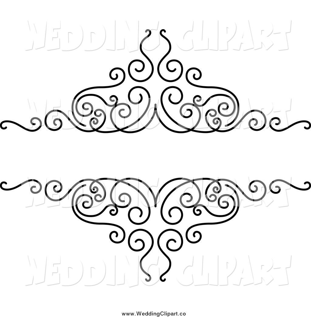 Date Wedding Swirl Clipart - Clipart Kid