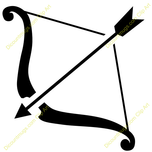 Clip Art Bow And Arrow Clip Art archery arrow clipart kid 11520 bow and mugs t shirts picture