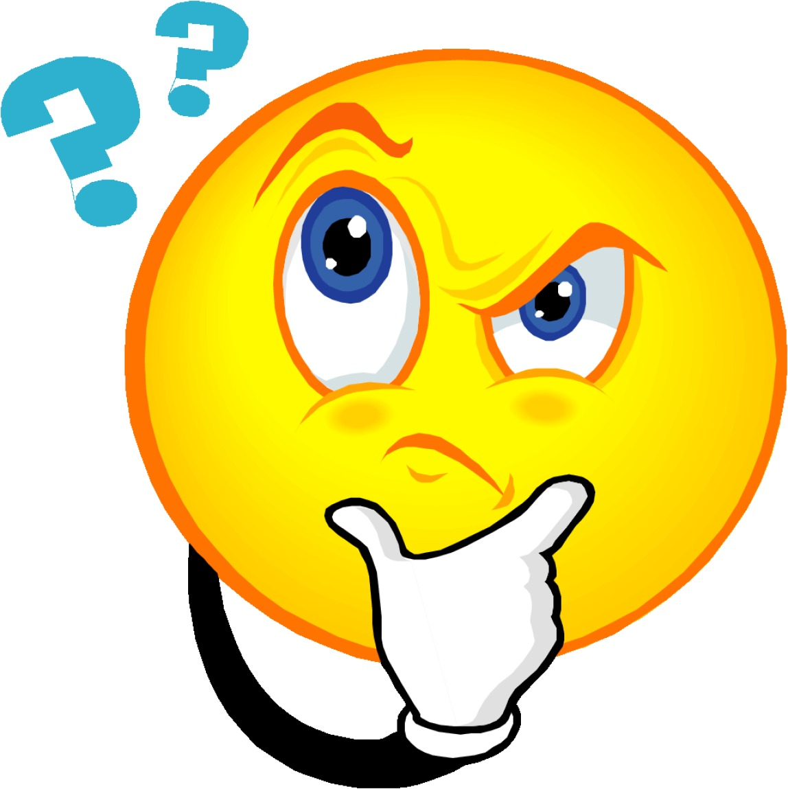 Confused Face Clipart