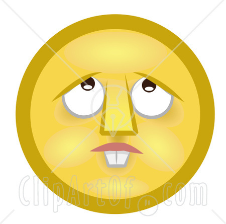 Confused Smiley Clipart
