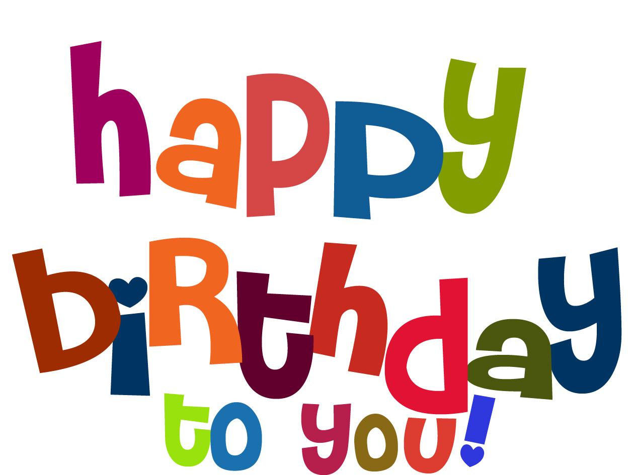 Happy Birthday Friend Clipart - Clipart Kid