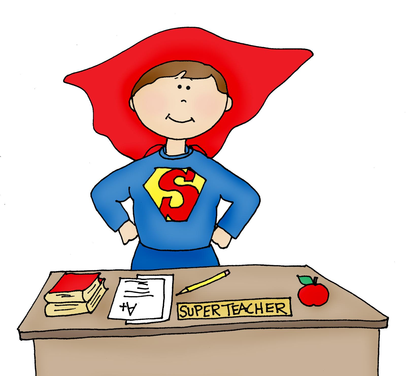 Super Teacher Clipart - Clipart Kid