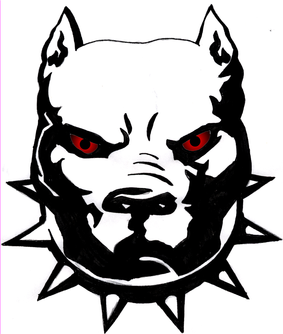 Free Download Tattoo  31612 Pitbull       Clipart Best   Clipart Best