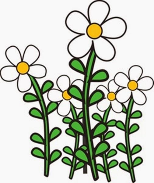 Flower Garden Free Clipart - Clipart Kid