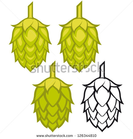 Hops Vector Visual Graphic Icons Or Logos Ideal For Beer Stout Ale