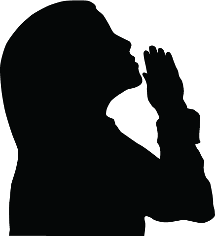 Women Praying Clipart - Clipart Kid