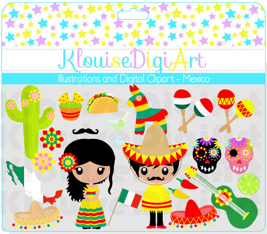 Mexican Girl Clipart Cute Clip Art Dolls   Dolls Of