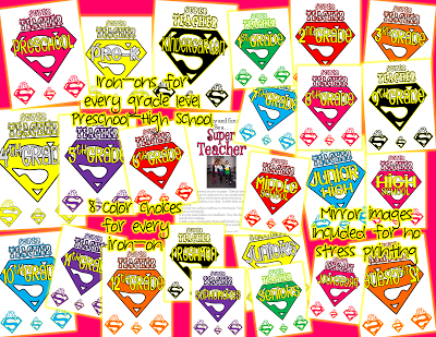 Super Teacher Clipart It Includes Super Teacher