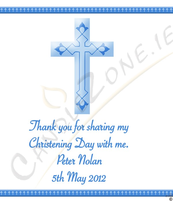 3959 917297cz Christening Cross Blue Christening Favour White Jpg