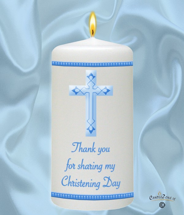 Baby Blue Crosses For Baptism