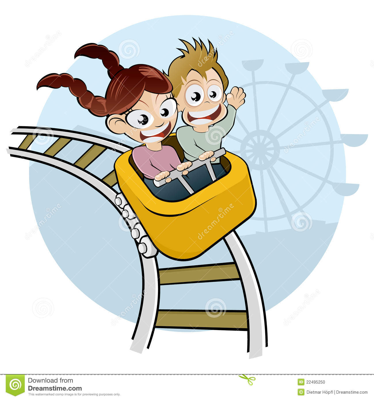 Cartoon Roller Coaster Clipart - Clipart Suggest
