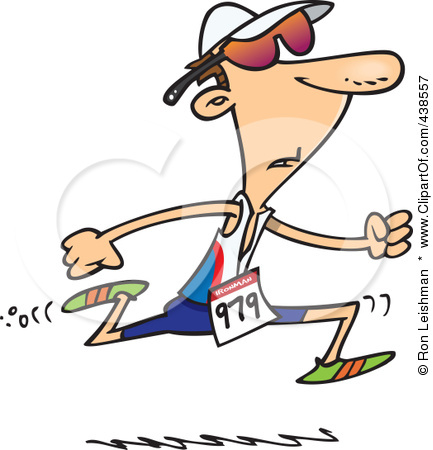 Cartoon People Running Clipart - Clipart Kid