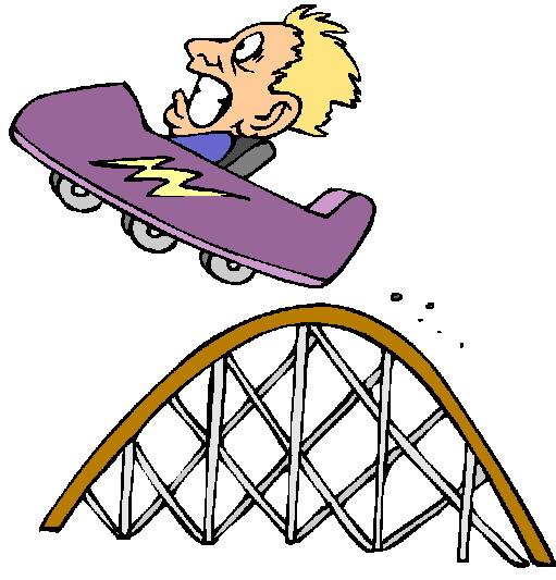 Clip Art   Rollercoaster Clip Art