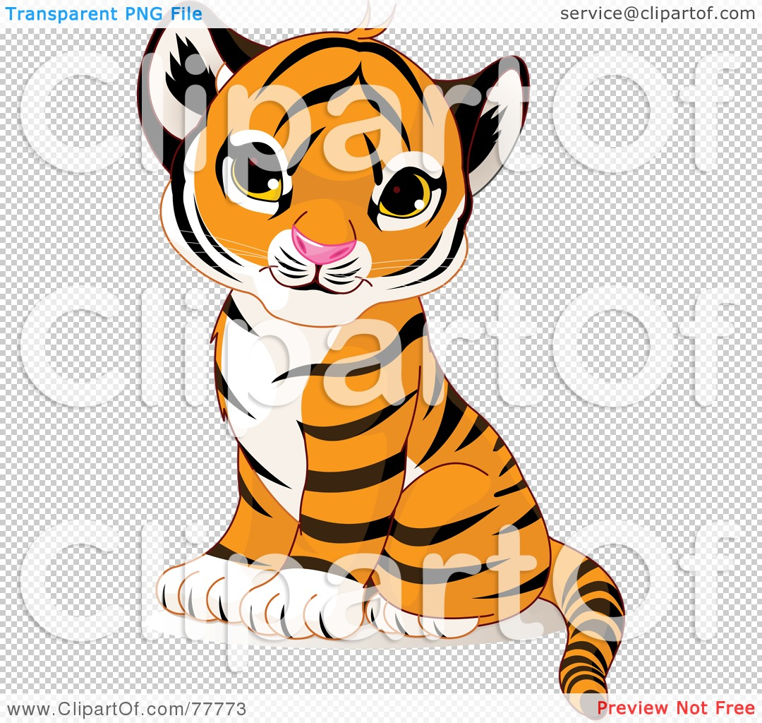 Tiger Transparent Clipart - Clipart Kid