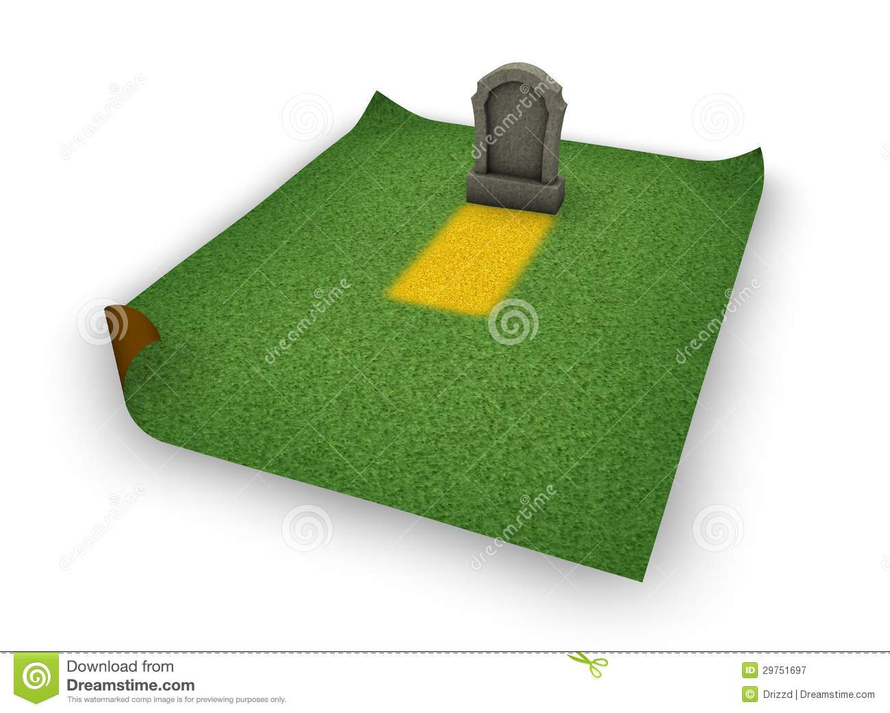 Gravestone Royalty Free Stock Photography   Image  29751697