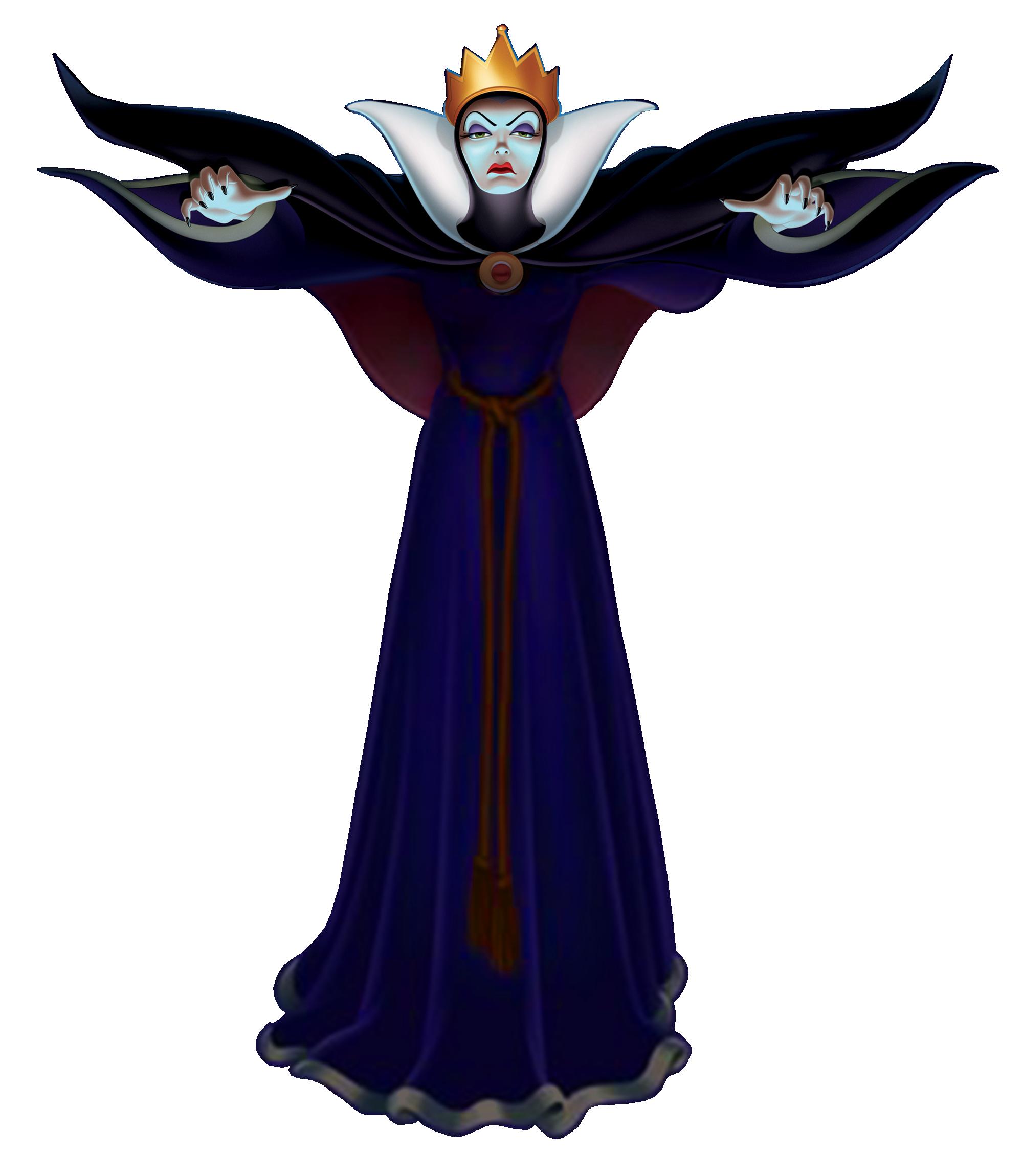 Clip art evil villains clipart clipart suggest - Evil queen disney ...