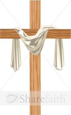 Resurrection Cross Of Hope   Cross Clipart