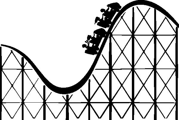 Cartoon Roller Coaster Clipart - Clipart Kid