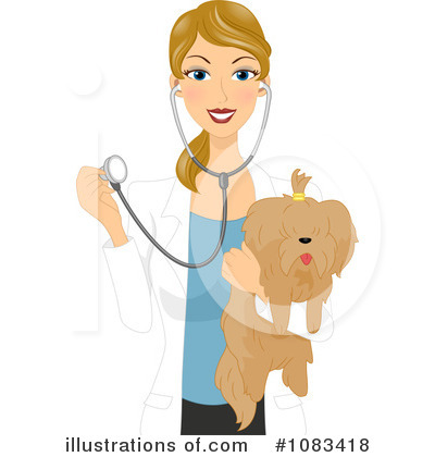 Royalty Free  Rf  Veterinarian Clipart Illustration  1083418 By Bnp