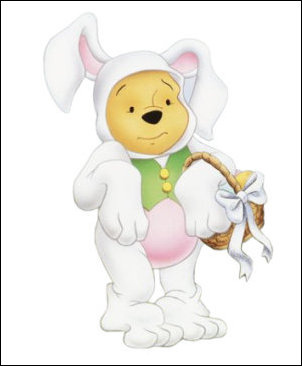 Winnie The Pooh Easter Bunny   Flickr   Photo Sharing