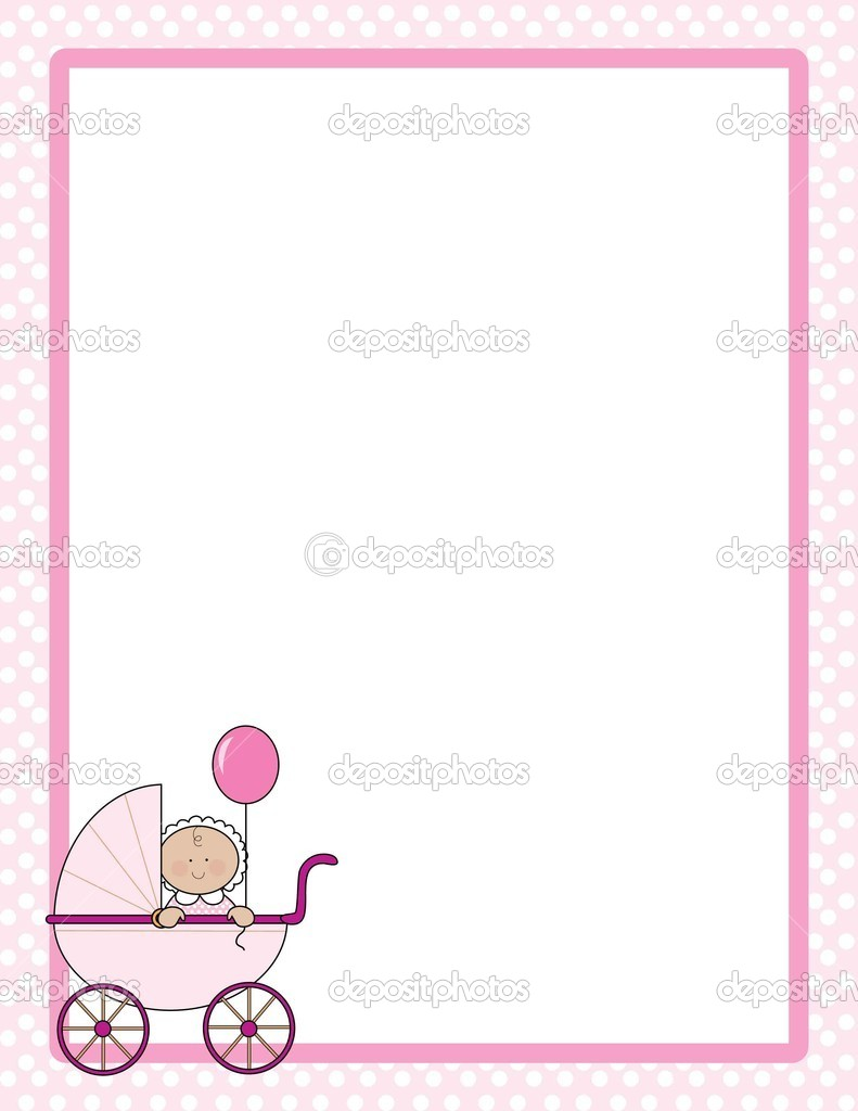 Baby Border Girl   Stock Vector   Mkoudis  7189999
