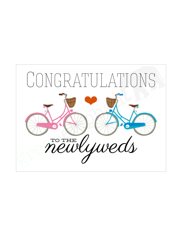 Free Printable Wedding Greeting Cards diagrams – Free Congratulation Cards