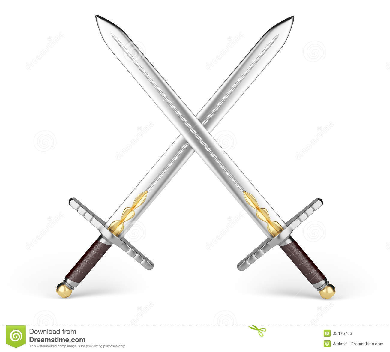 crossed medieval sword clipart clipart suggest