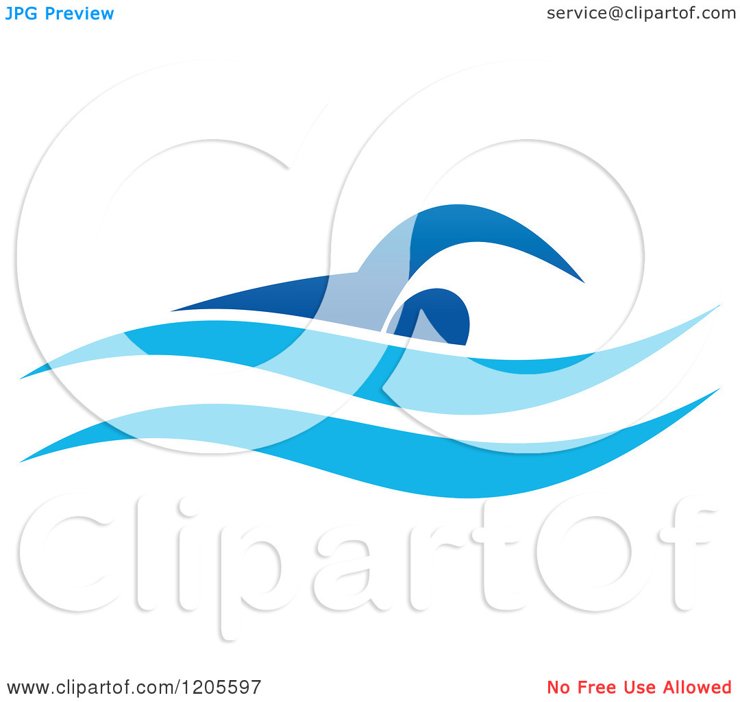 swimming logo clipart clipart kid