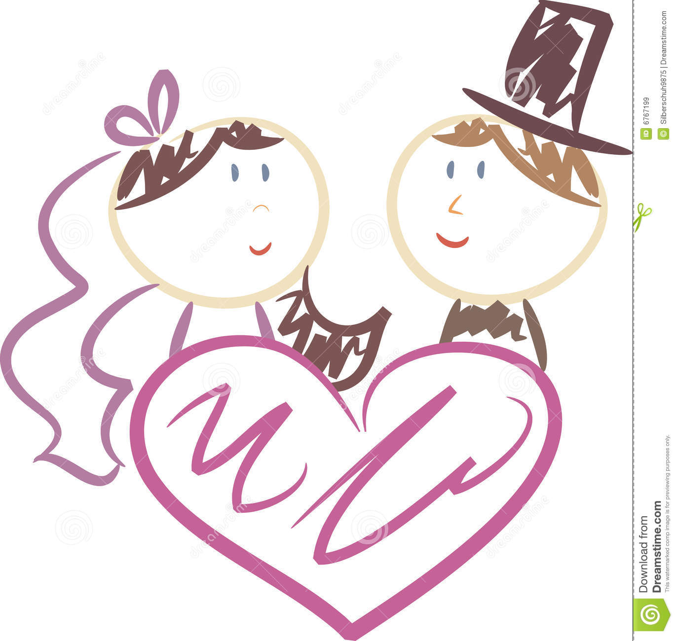 Wedding Graphics: Cute Wedding Clip Art