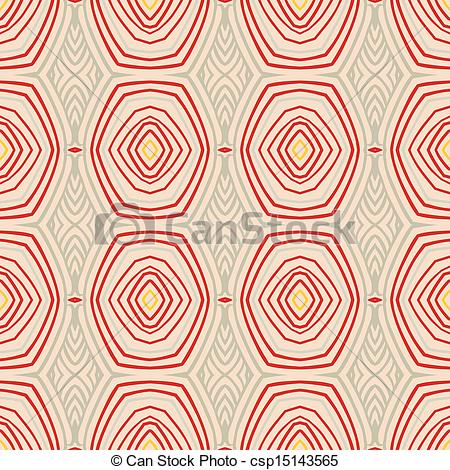 Oval Shapes In 1950s Style   Vector    Csp15143565   Search Clipart
