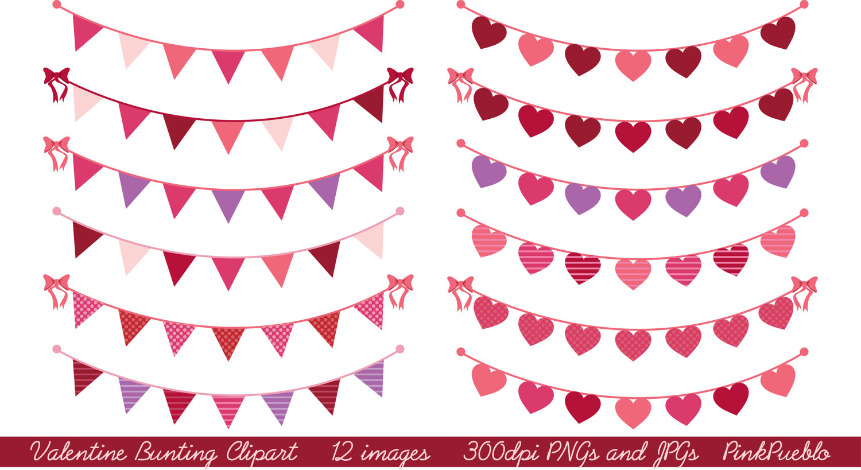 Valentine's Day Banner Clipart - Clipart Kid