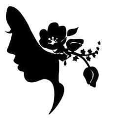 Silhouette On Pinterest   Silhouette Art Victorian And Victorian