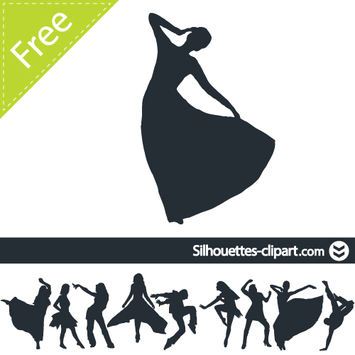 Women Vector Silhouettesilhouettes Clipart   Silhouettes Clipart