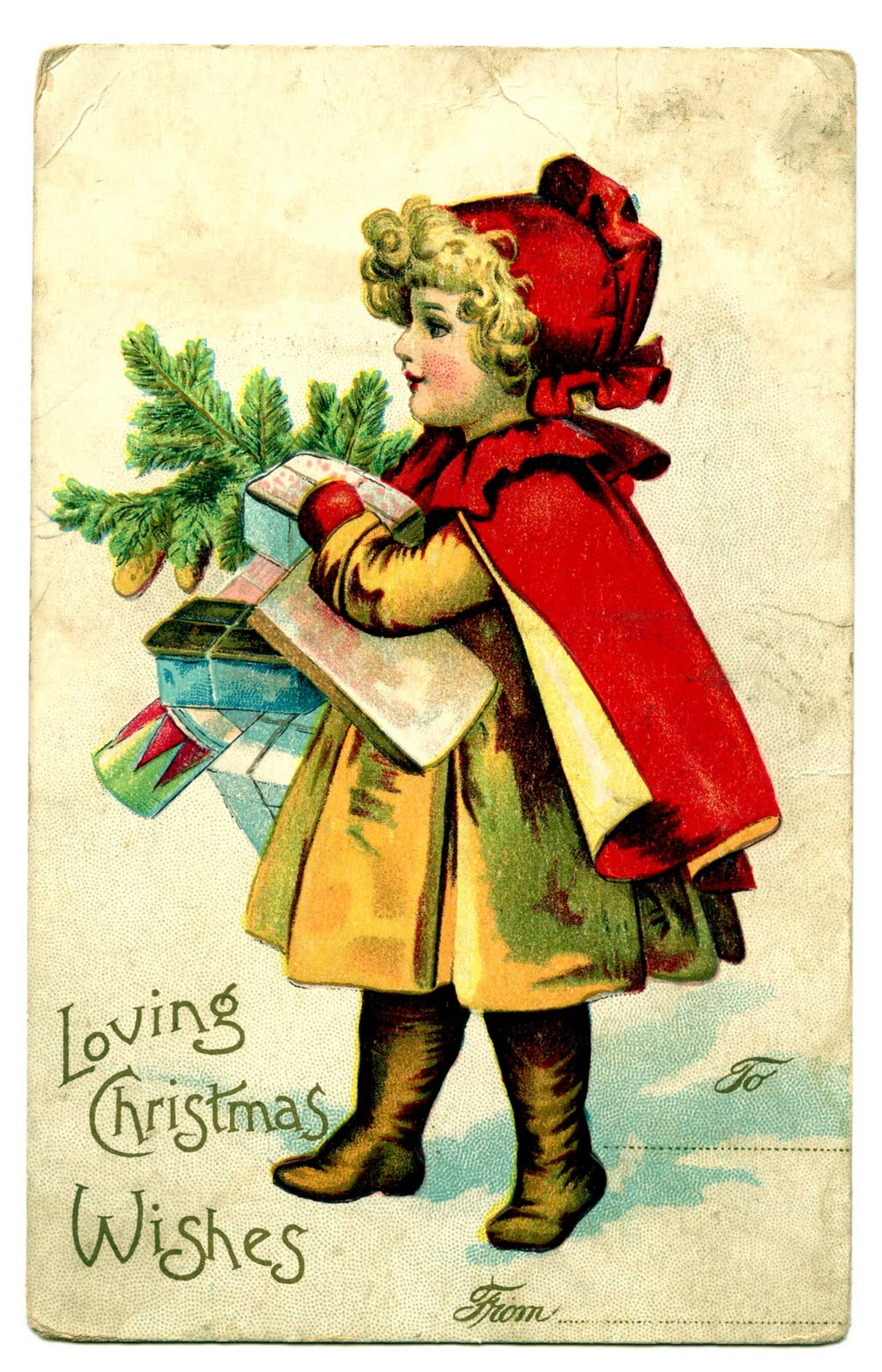 Vintage Christmas Clipart - Clipart Kid