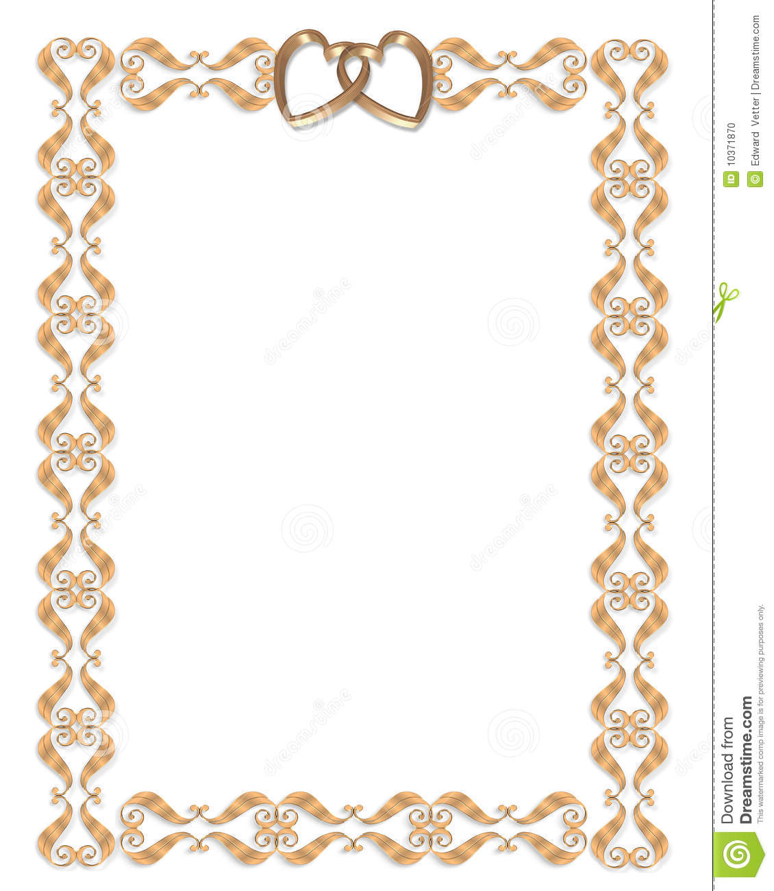 50th anniversary hearts clipart clipart suggest for Table th border