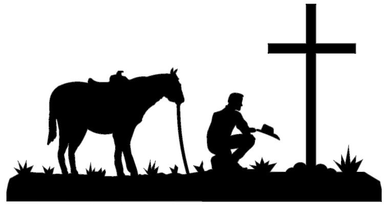 Western Ranch Silhouette Clipart - Clipart Kid