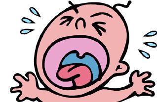 Crying Baby Clip Art   Clipart Best