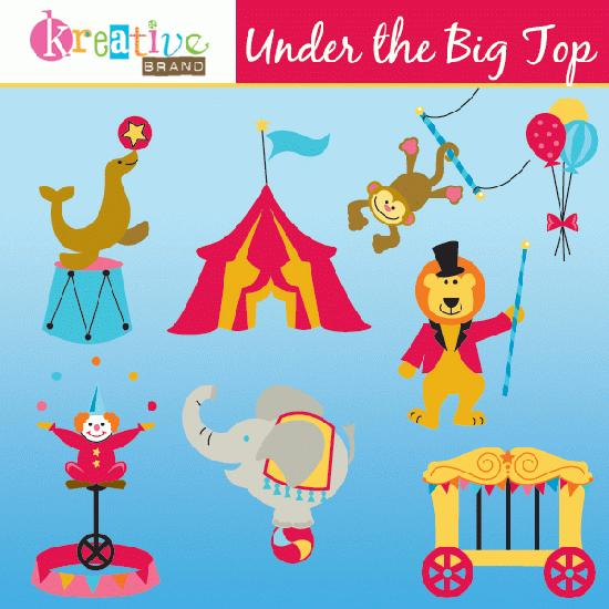 Mygrafico  Under The Big Top Clipart