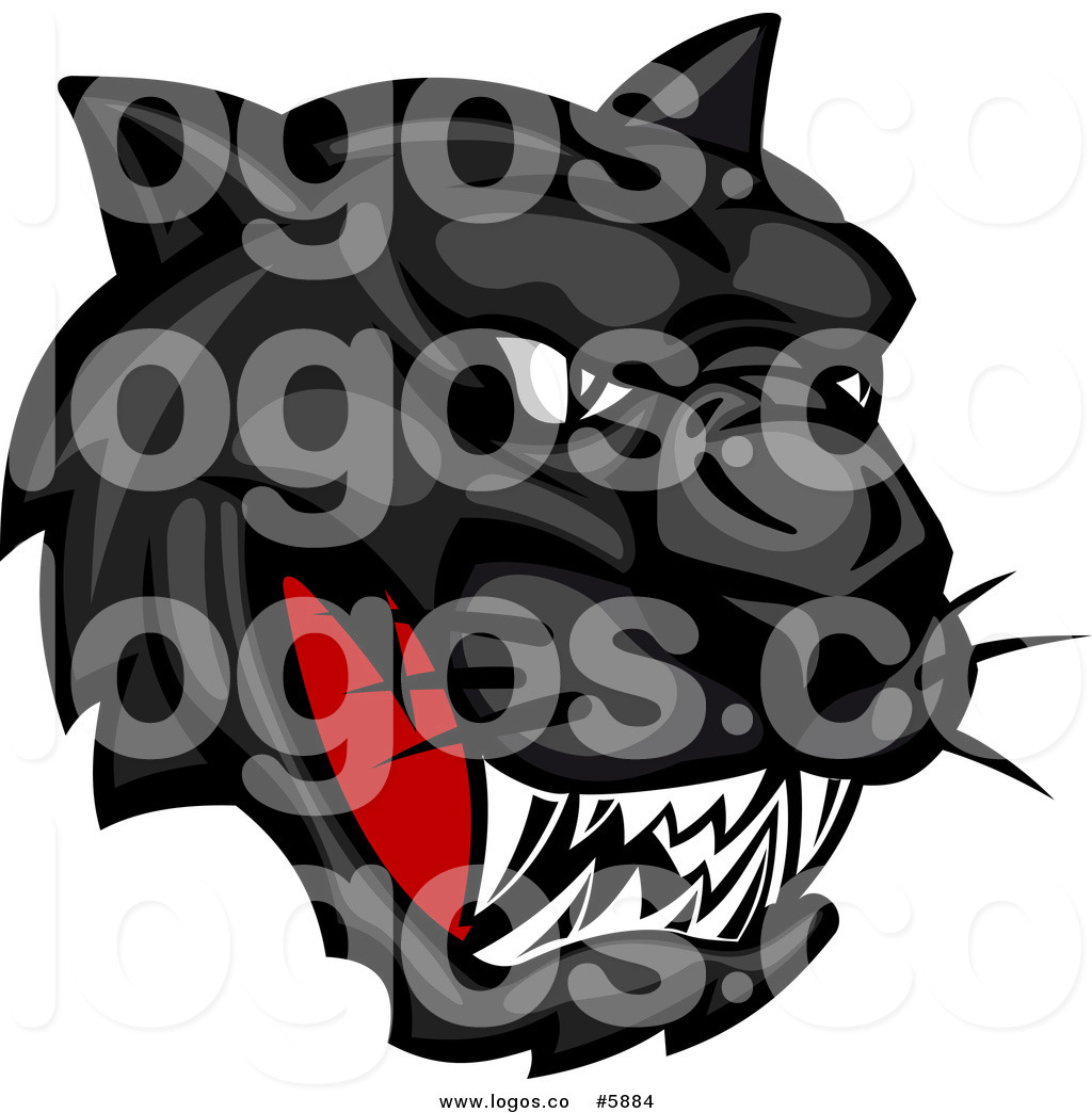 Panther Logo Face Clipart - Clipart Suggest