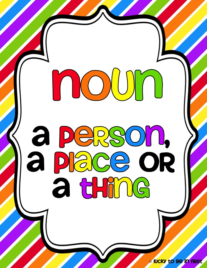 Common Nouns Clipart - Clipart Kid