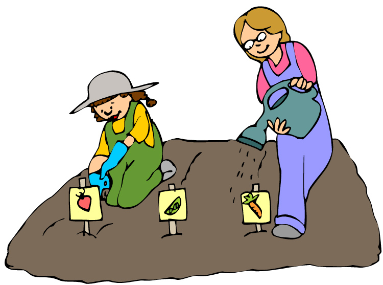 Children Planting Seeds Clipart Planting Seeds