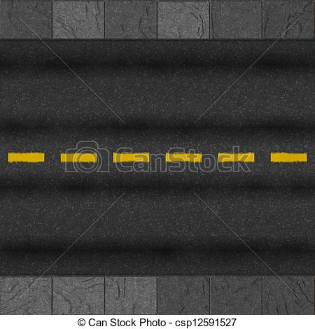 Clip Art Of Road Background Csp12591527   Search Clipart Illustration